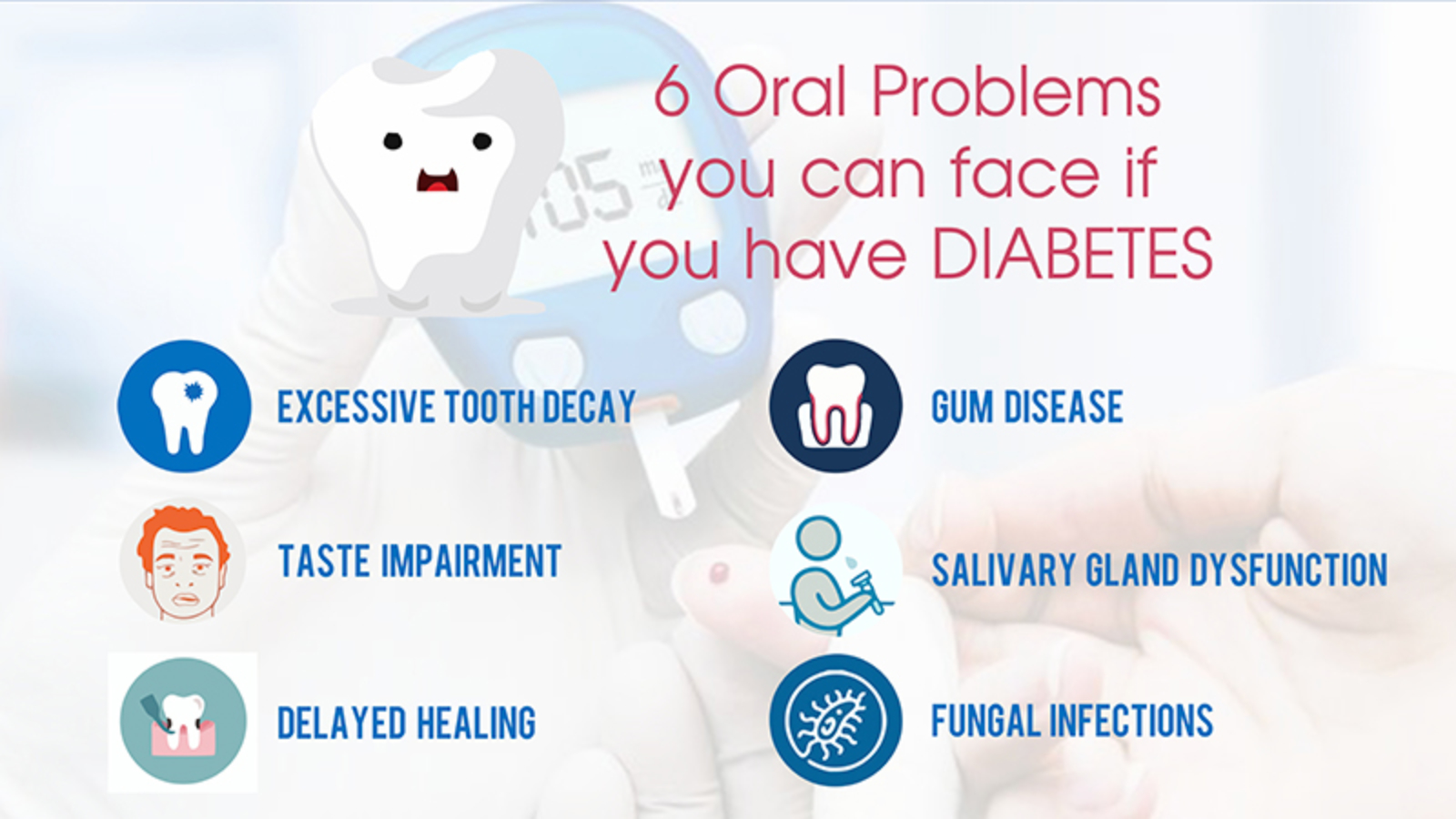 6 Oral Problems You Can Face If You Have Diabetes